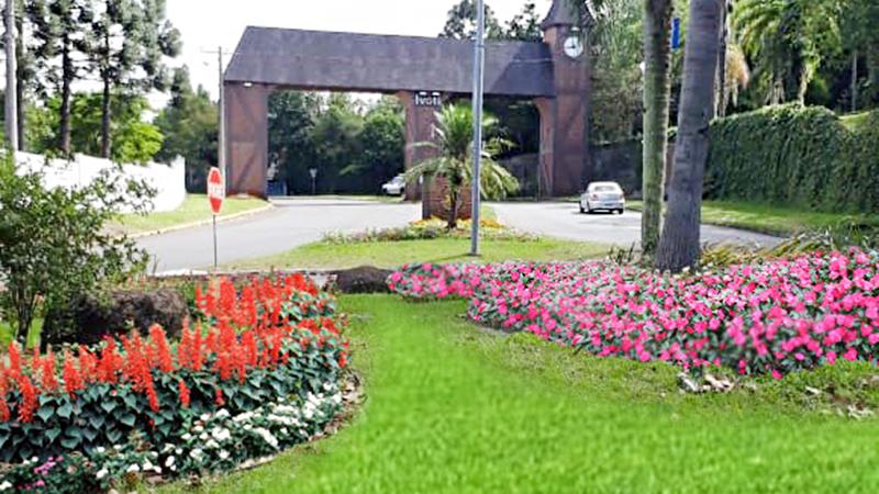 Ivoti - a cidade das flores - pórtico da cidade