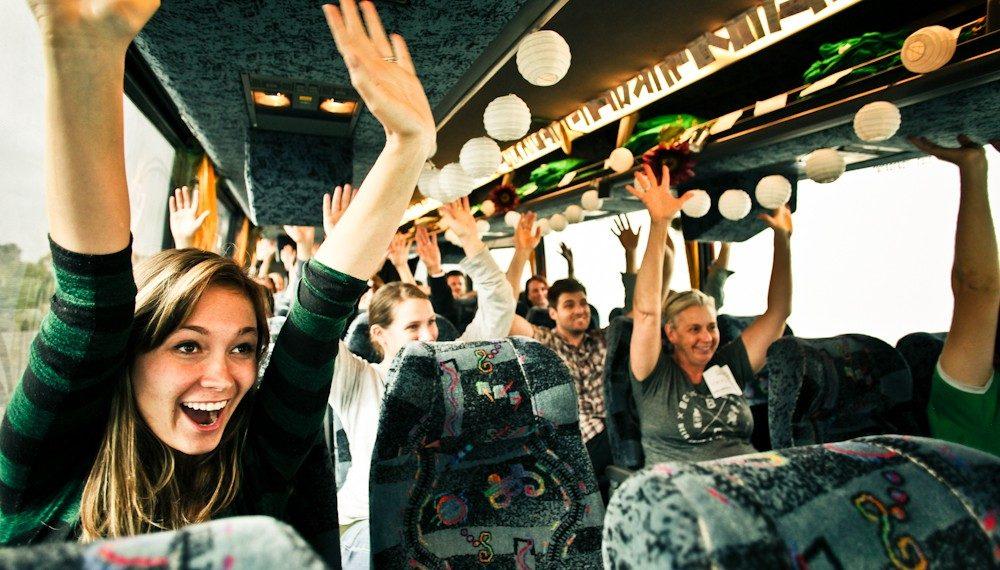 Viajar de ônibus nas férias