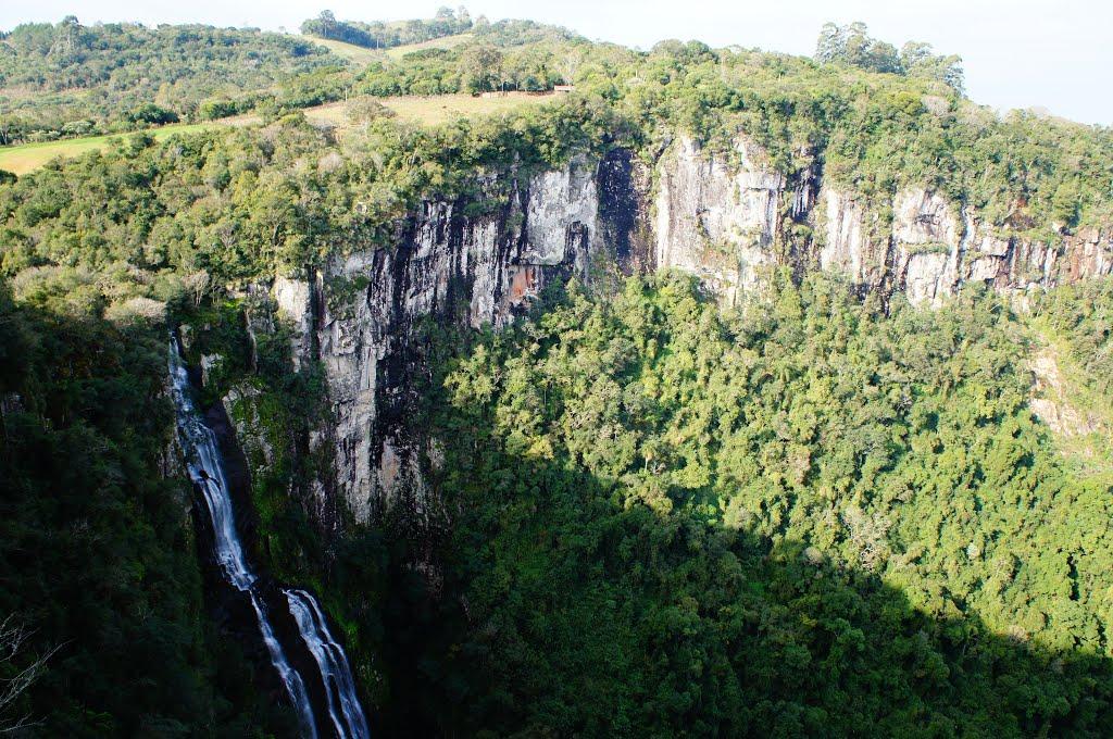 Veranópolis - Parque cascata dos monges