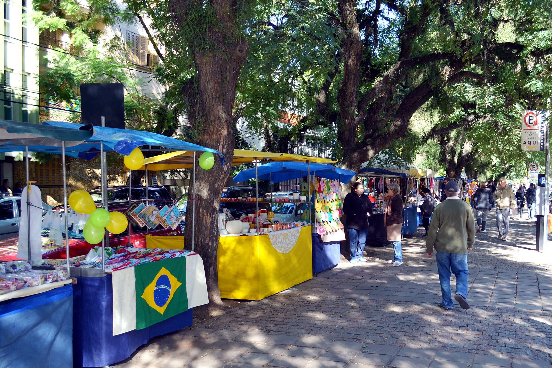 Turismo em Porto Alegre - Brique da Redenção