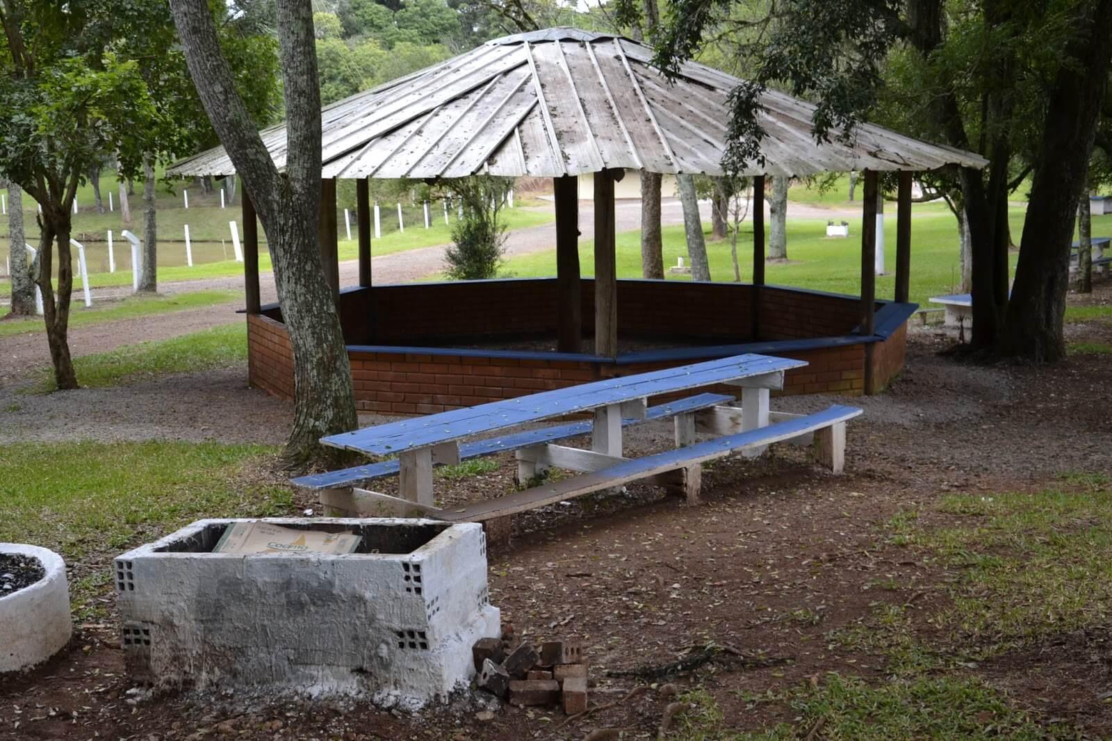 Parque Municipal das Águas em Getúlio Vargas
