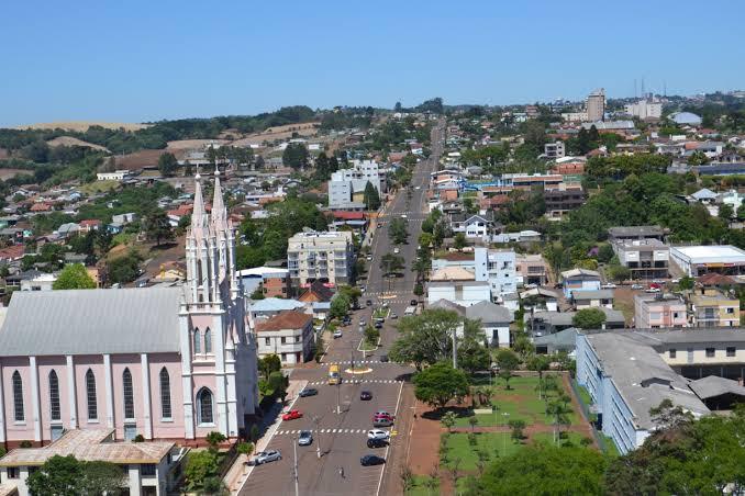 A cidade de Getúlio Vargas - Rio Grande do Sul